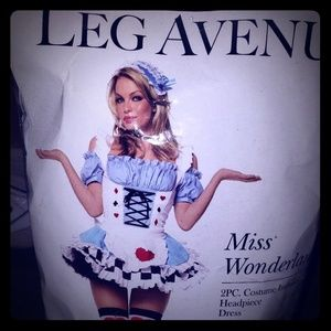 Miss Wonderland Alice Halloween Costume
